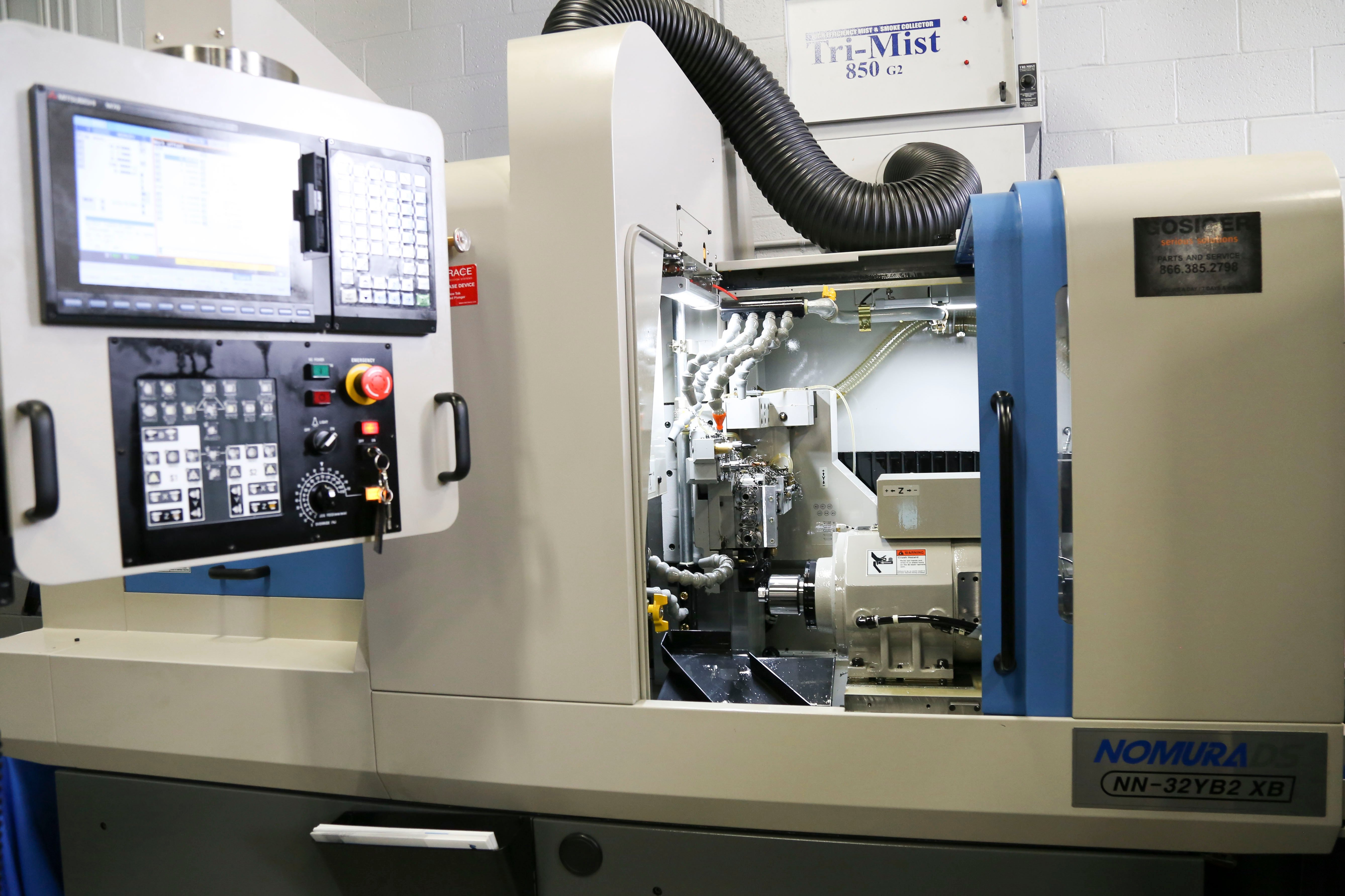 Swiss Machine Tool Pre-setter Reduces Adjustment/ Replacement Times by 60%